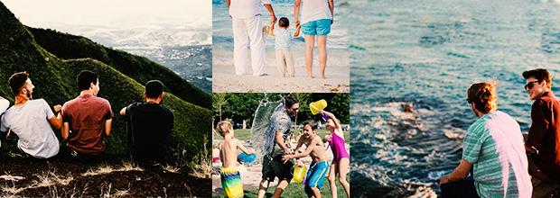 Vacances en famille ou entre amis