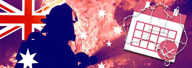 Illustration : Jours de congés uppplémentaires pour les pompiers volontaires australiens