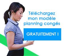 modèle planning-congés à télécharger gratuit